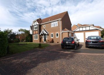 Thumbnail 4 bed detached house for sale in Elm Close, Cramlington