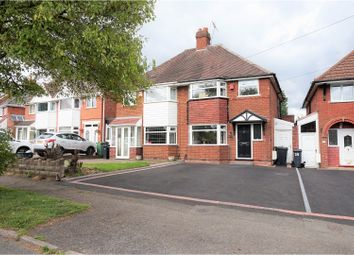 Thumbnail 3 bed semi-detached house for sale in Shenstone Valley Road, Halesowen