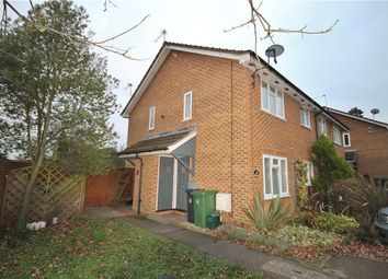 Thumbnail 1 bed end terrace house to rent in The Orchard, Lightwater, Surrey
