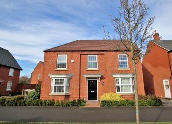 Thumbnail 4 bed detached house for sale in Dennis Way, Measham, Swadlincote