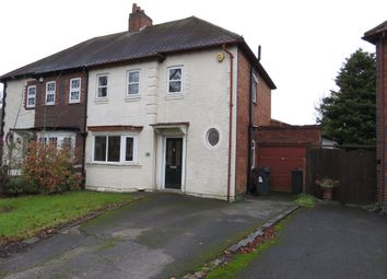 Thumbnail 3 bed semi-detached house for sale in Mayland Road, Edgbaston, Birmingham