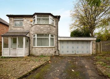 Thumbnail 3 bedroom detached house for sale in Maldon Crescent, Manchester, Greater Manchester