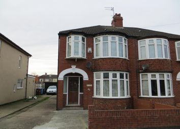 Thumbnail 3 bedroom semi-detached house for sale in Windsor Road, Hull