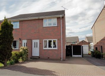 Thumbnail 2 bed semi-detached house for sale in Dale View Road, Pilsley, Chesterfield