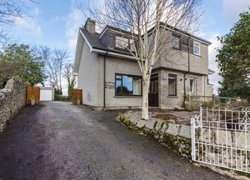 Thumbnail 3 bed semi-detached house for sale in St Brydes Road, Kemnay, Inverurie, Aberdeenshire
