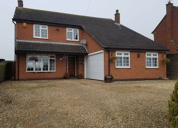 Thumbnail 4 bed detached house for sale in Croft Road, Thurlaston, Leicester