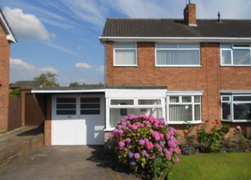 Thumbnail 3 bed semi-detached house to rent in Hillside Crescent, Pelsall, Walsall