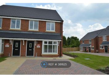 Thumbnail 3 bed semi-detached house to rent in Highfield Avenue, Langwith Junction, Mansfield