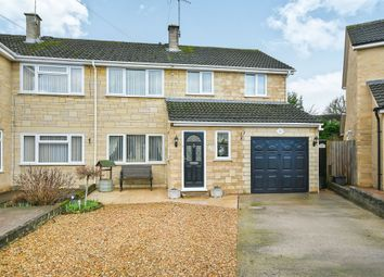 Thumbnail 4 bed semi-detached house for sale in Farleigh Close, Chippenham