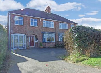 Thumbnail 5 bedroom semi-detached house for sale in Bradgate Road, Newtown Linford, Leicester