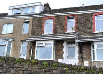 Thumbnail 3 bed terraced house for sale in Seaview Terrace, Waun Wen, Swansea