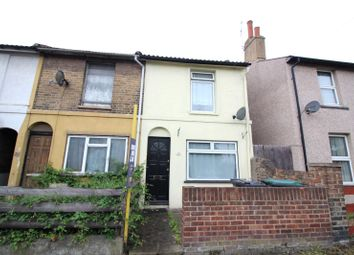 Thumbnail 2 bed terraced house to rent in Dover Road, Northfleet, Gravesend, Kent