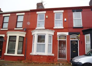 Thumbnail 3 bedroom terraced house to rent in Tiverton Street, Wavertree, Liverpool, Merseyside
