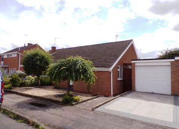 Thumbnail 2 bed bungalow for sale in Britford Avenue, Wigston, Leicestershire