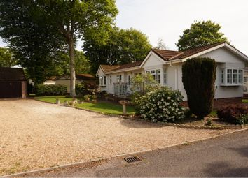 Thumbnail 2 bed mobile/park home for sale in Downsview Road, Hailsham