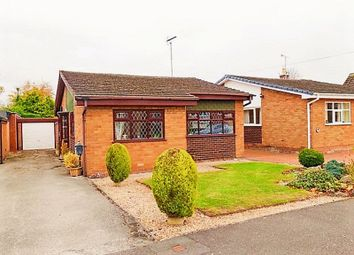 Thumbnail 3 bed detached bungalow for sale in Field Crescent, Derrington, Stafford.