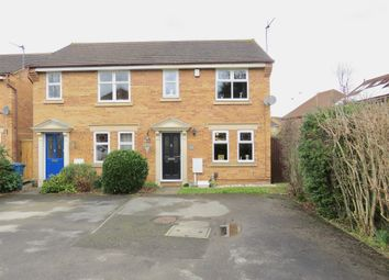 Thumbnail 3 bed semi-detached house for sale in Rossett Close, Gamston, Nottingham