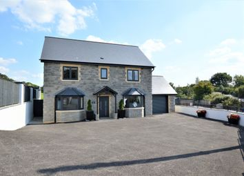 Thumbnail 4 bed detached house for sale in Efail Shingrig, Trelewis, Treharris