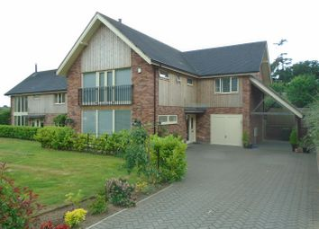 Thumbnail 4 bed detached house for sale in Lower Road, Harmer Hill, Shrewsbury