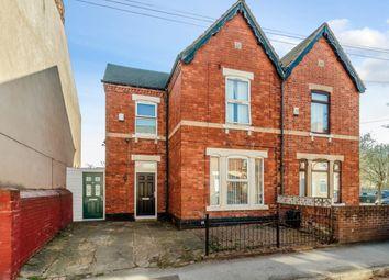 Thumbnail 3 bed semi-detached house for sale in John Street, Worksop, Nottinghamshire
