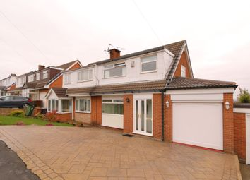 Thumbnail 3 bed semi-detached house for sale in Hill Mount, Dukinfield