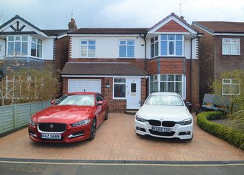 Thumbnail 4 bed detached house for sale in Wellfield Road, Stockport