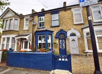 Thumbnail 2 bed terraced house for sale in Clacton Road, London