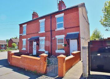 Thumbnail 3 bed end terrace house to rent in Barons Road, Wrexham