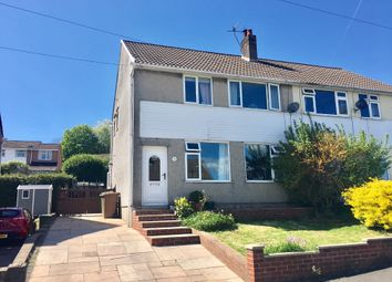 Thumbnail 3 bed semi-detached house for sale in Heol Barri, Caerphilly