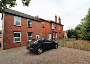 Thumbnail 3 bed flat for sale in Fairfield Close, Gobowen, Oswestry