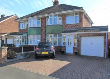 Thumbnail 3 bed semi-detached house for sale in Keswick Close, Maghull, Liverpool