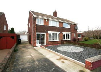 Thumbnail 3 bed semi-detached house for sale in Kimmerton Avenue, Acklam, Middlesbrough