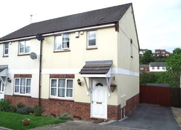 Thumbnail 3 bed semi-detached house for sale in Kintyre Close, Torquay