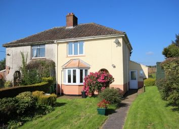 Thumbnail 3 bed semi-detached house for sale in Chapel Road, Shelthorne, Broomfield, Bridgwater