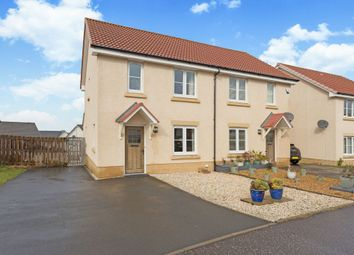 Thumbnail 3 bed semi-detached house for sale in 19 Easter Langside Crescent, Dalkeith