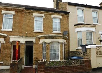 Thumbnail 2 bed terraced house to rent in Monins Road, Dover