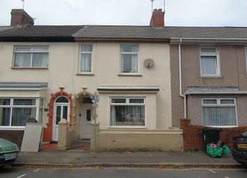 Thumbnail 3 bed terraced house for sale in Hamilton Street, Newport