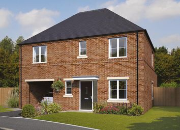 "Thumbnail 4 bedroom detached house for sale in ""The Hanbury"" at Pastures Road, Mexborough"