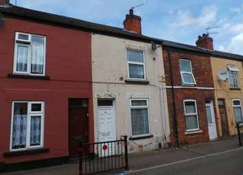 Thumbnail 2 bed terraced house to rent in Percival Street, Scunthorpe