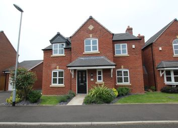 Thumbnail 4 bed detached house for sale in Bader Close, Hinckley