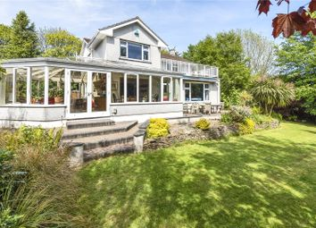 Thumbnail 4 bed detached house for sale in Lankelly Lane, Fowey, Cornwall