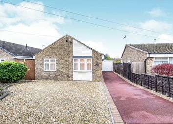Thumbnail 2 bed detached bungalow for sale in Stackley Road, Great Glen, Leicester