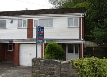 Thumbnail 3 bed end terrace house for sale in Heatherslade, Morriston, Swansea.