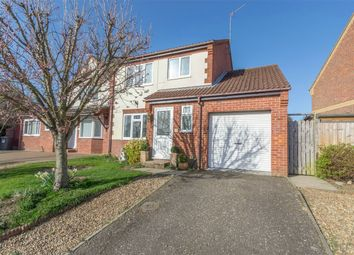 Thumbnail 3 bedroom detached house for sale in Valley Way, Fakenham