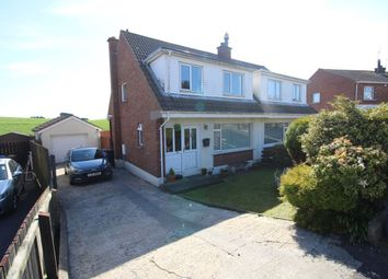 Thumbnail 3 bed semi-detached house for sale in Ballymacormick Crescent, Groomsport, Bangor