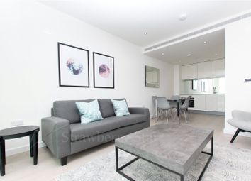 Thumbnail 1 bedroom flat to rent in Sky Gardens, 155 Wandsworth Road, London