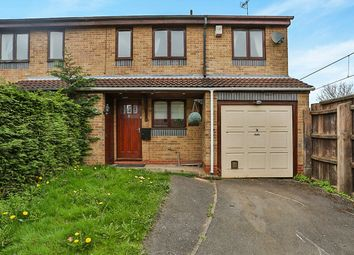 Thumbnail 4 bed semi-detached house to rent in Lakeland Avenue, Hucknall, Nottingham