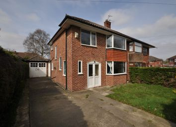 Thumbnail 3 bedroom semi-detached house for sale in Brimstage Road, Heswall, Wirral