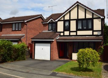 Thumbnail 4 bed detached house for sale in The Heathers, Evesham