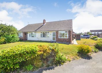 Thumbnail 2 bed semi-detached bungalow for sale in Frognal Gardens, Sittingbourne, Kent.